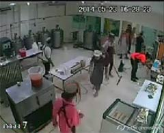 Image from the video ice cream factory cleaning